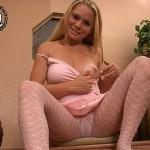 Krissy Kay In Pink Pantyhose